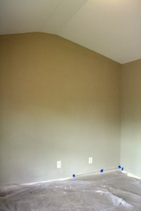 Clean room, blank slate. Let the painting begin!